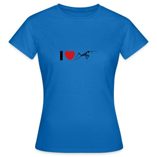I ❤️ Mantis - Frauen T-Shirt