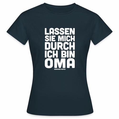 Oma - Frauen T-Shirt