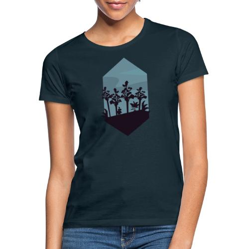 Jungle Silhouette - T-skjorte for kvinner
