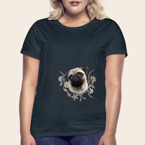 Mops Portrait - Frauen T-Shirt