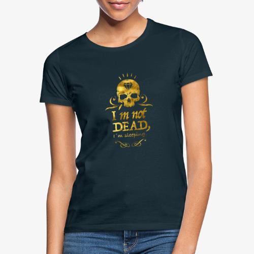 GoldSkull - Camiseta mujer