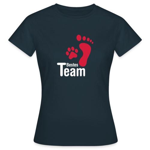 Vorschau: Bestes TEAM - Frauen T-Shirt