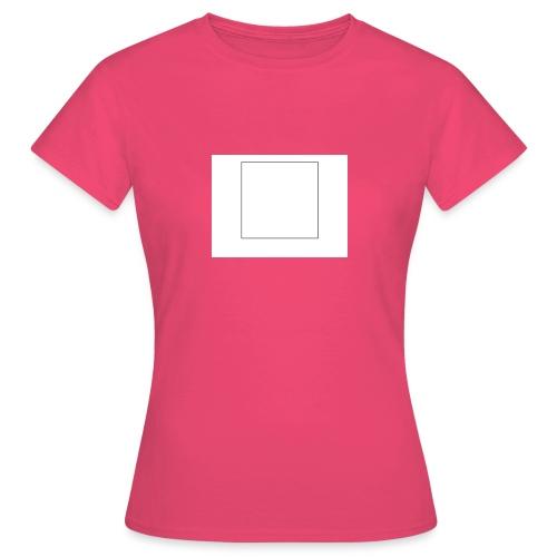Square t shirt - Vrouwen T-shirt