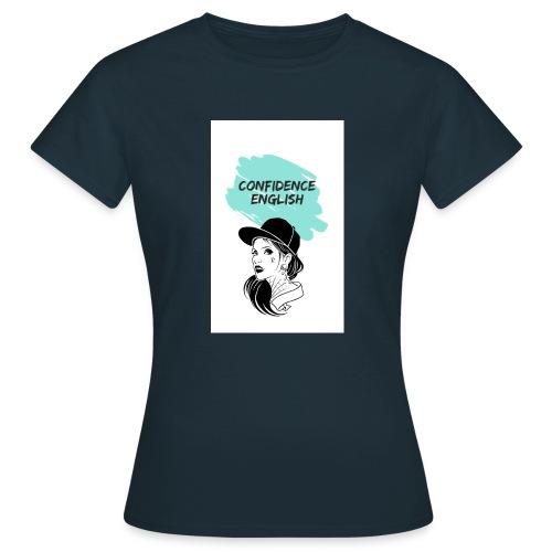 SUDADERAS CONFIDENCE ENGLISH - Camiseta mujer