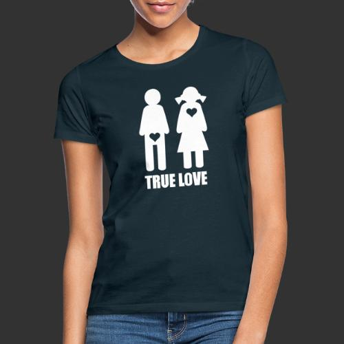 True Love - T-shirt dam