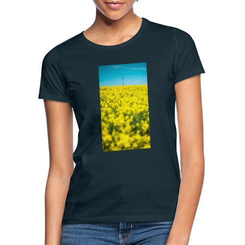 Rapsfeld - Frauen T-Shirt