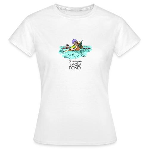 monde de nadoo aqua poney - T-shirt Femme