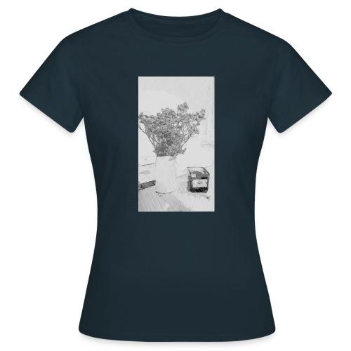 Blumen Stillleben - Frauen T-Shirt