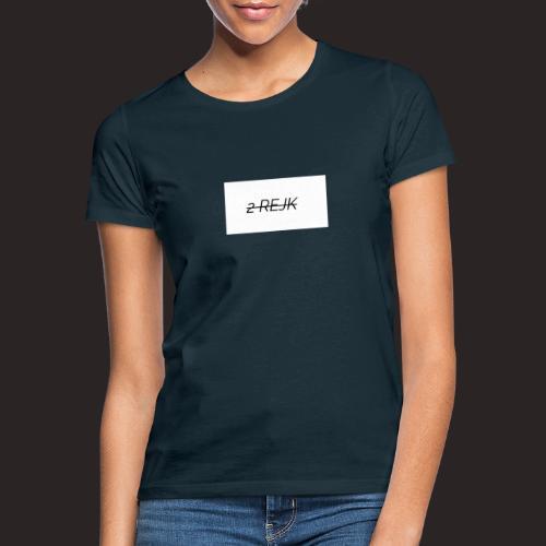 2 rejk valkoinen - Naisten t-paita