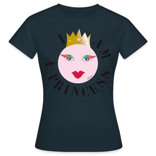 I AM A PRINCESS pink - T-shirt Femme