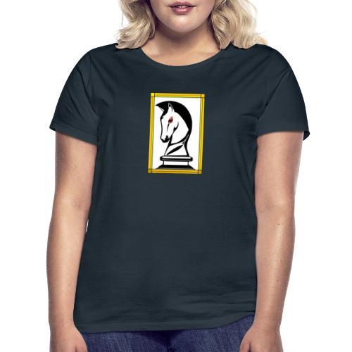 cavallo Scacchi Alternativo2 - Maglietta da donna