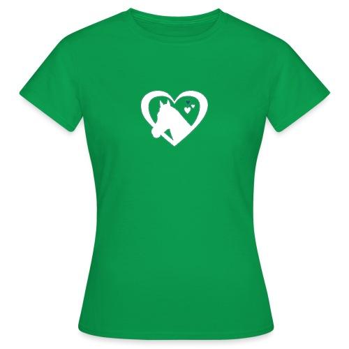 horse heart - Vrouwen T-shirt