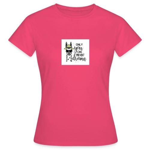 Lama Drama - Vrouwen T-shirt