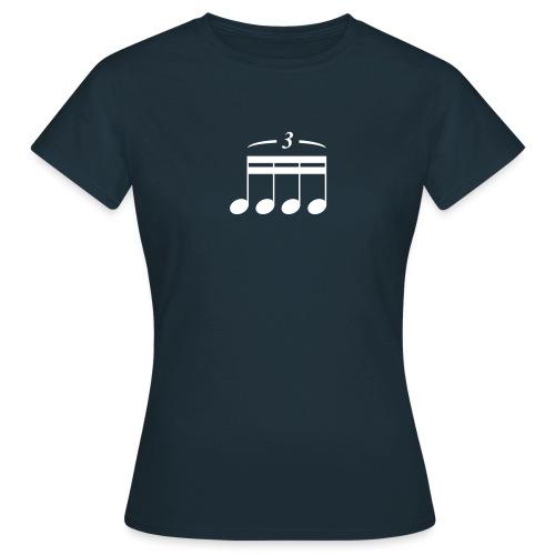 Triole? Triplet? - Frauen T-Shirt