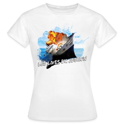 ship 3 - T-shirt Femme