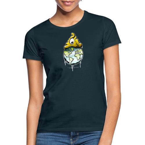 shit rules the world - Frauen T-Shirt
