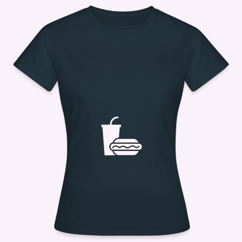plainicon cowhite0 png - T-shirt Femme