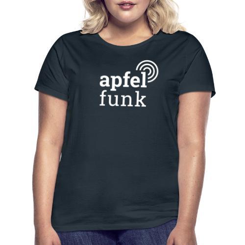 Apfelfunk Dark Edition - Frauen T-Shirt