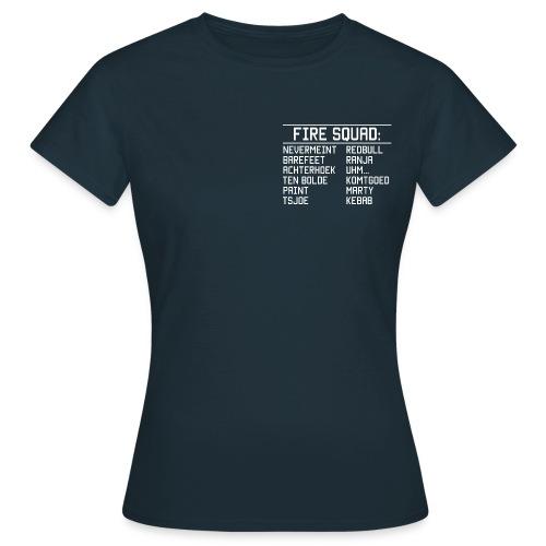 8DArmyTekst v001 - Vrouwen T-shirt