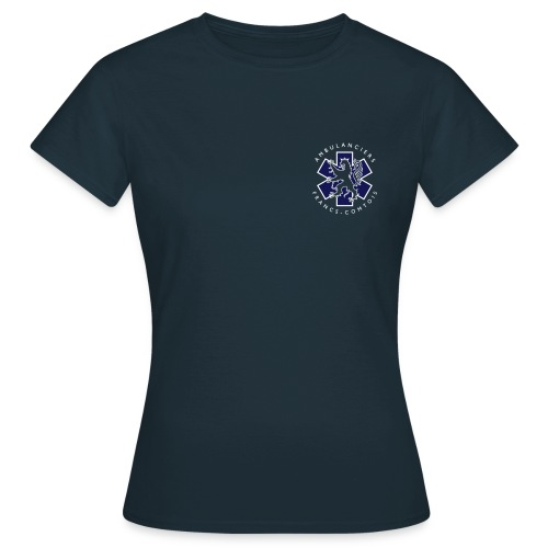logo blue lion - T-shirt Femme
