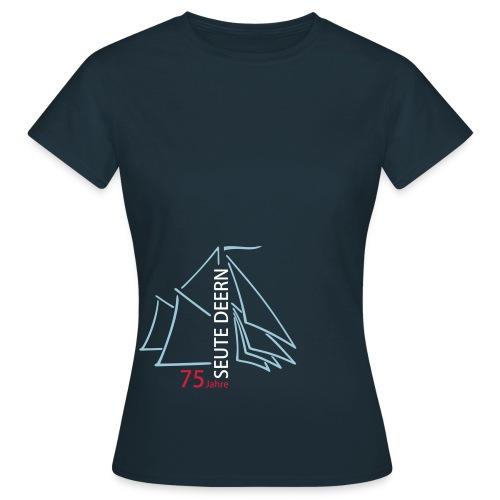 SeuteDeern75Jahre-Front - Frauen T-Shirt