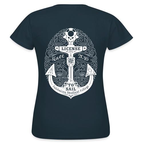 License to Sail 2016 - Vrouwen T-shirt