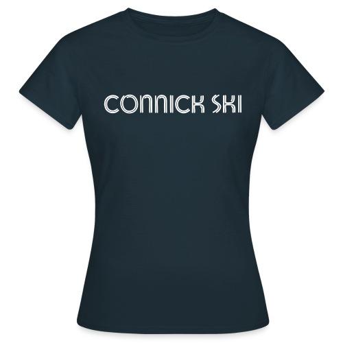 connick ski text - Women's T-Shirt