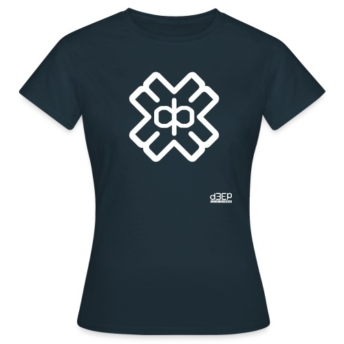 d3eplogowhite - Women's T-Shirt