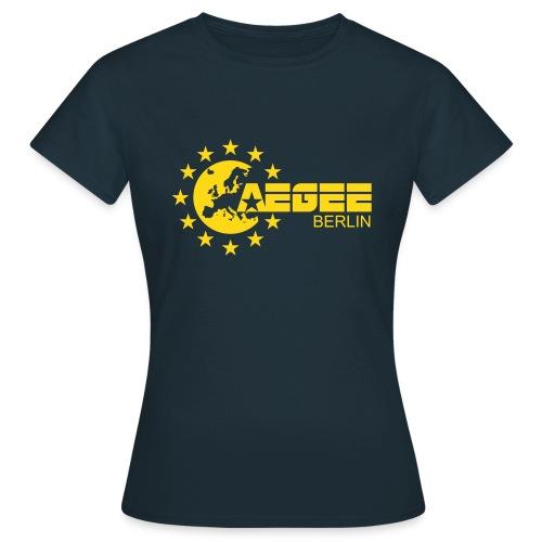 Logo Berlin_blue_largeN - Frauen T-Shirt