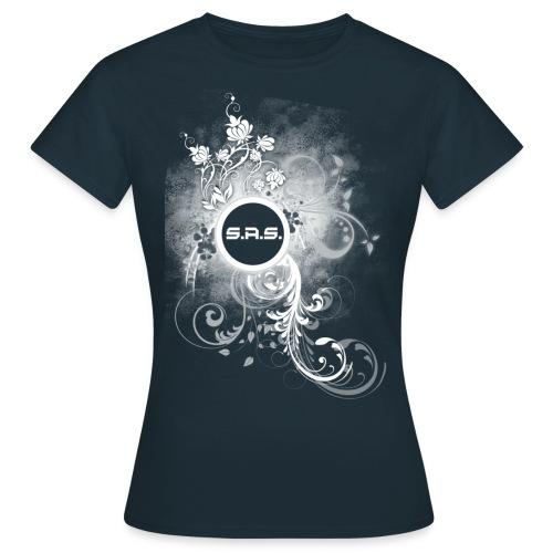 swirlswhite2 png - Vrouwen T-shirt