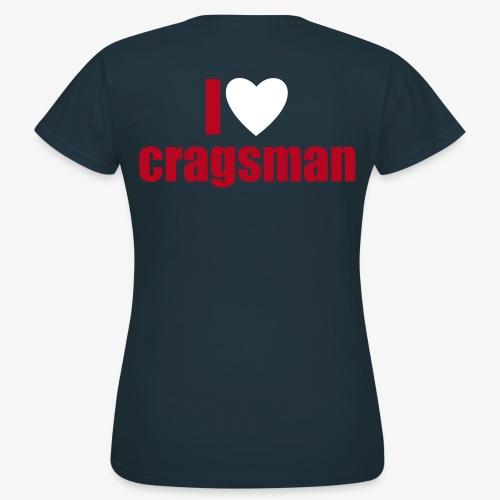 cragsman herz 2c nMnD - Frauen T-Shirt