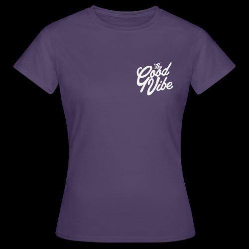 TheGoodVibe white logo edition - Maglietta da donna