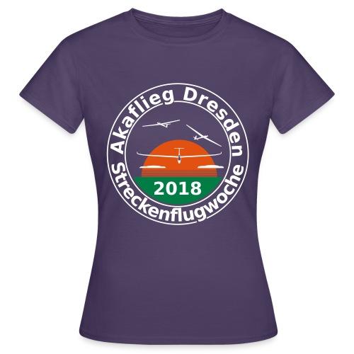 Streckenflugwoche Akaflieg Dresden 2018 - Frauen T-Shirt