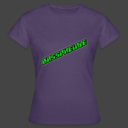 Bassphemie - Neongrün II - Frauen T-Shirt
