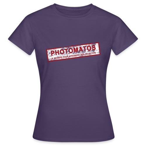 PhotoMatos - T-shirt Femme