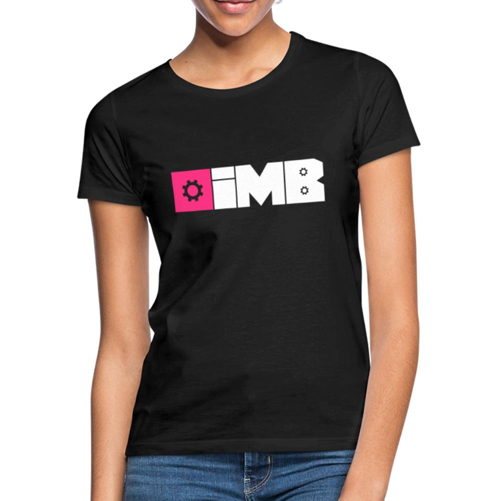 IMB Logo (plain) - Women's T-Shirt - black