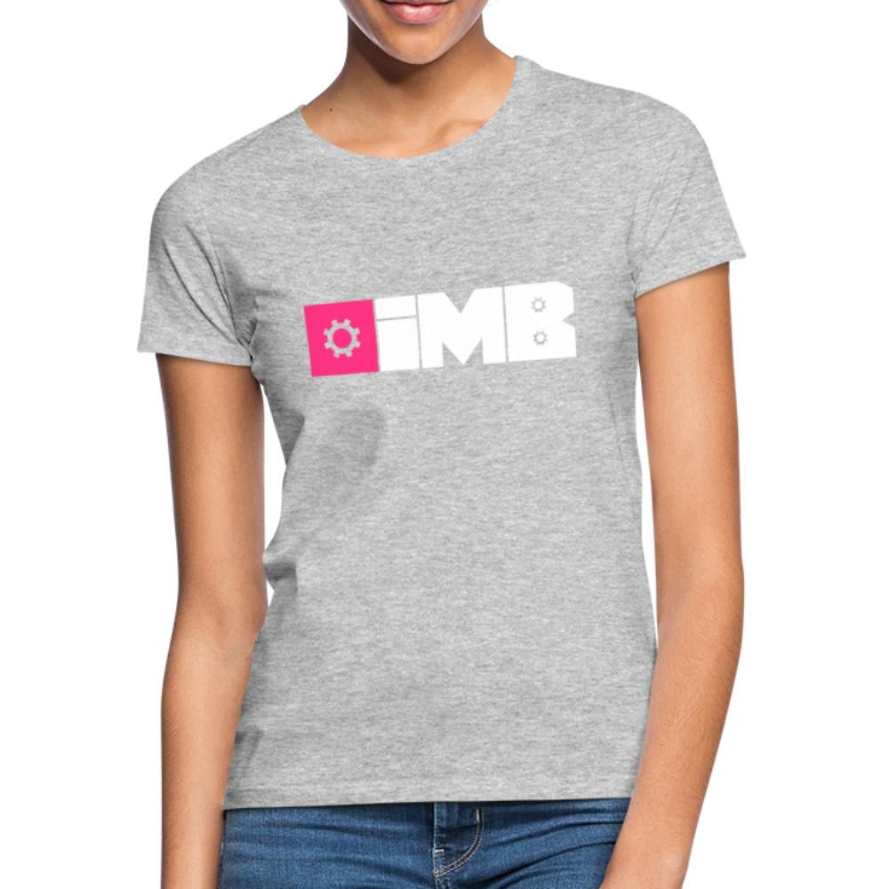 IMB Logo (plain) - Women's T-Shirt - heather grey