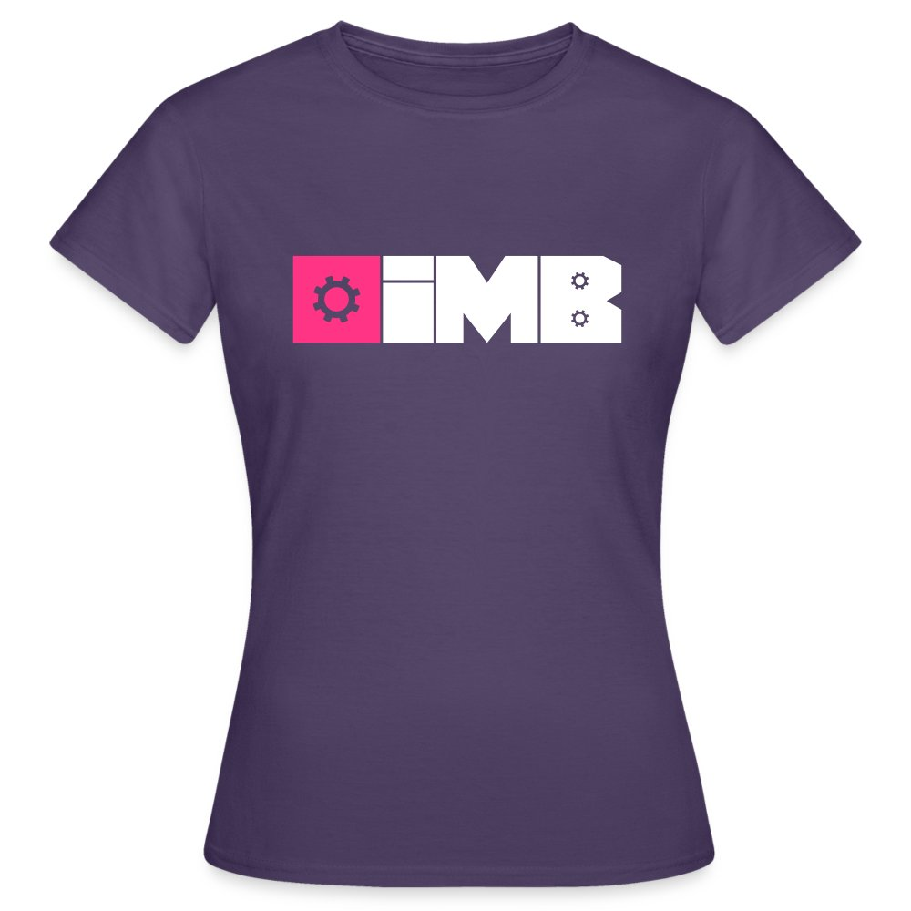 IMB Logo (plain) - Women's T-Shirt - dark purple