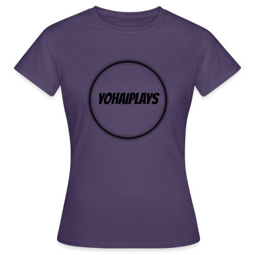 Sirkel logo - T-skjorte for kvinner