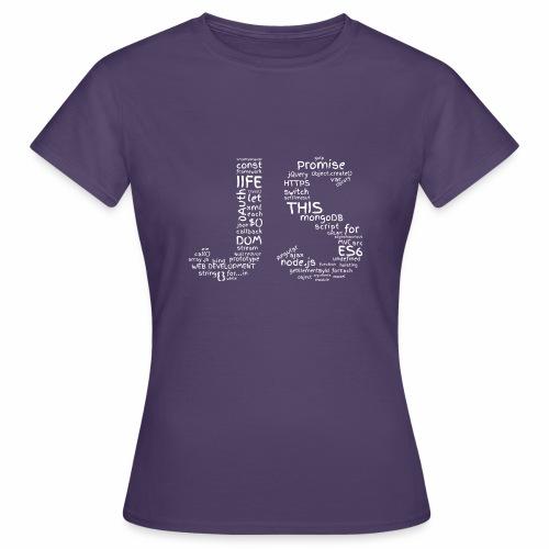 JS CLOUD biały - Koszulka damska