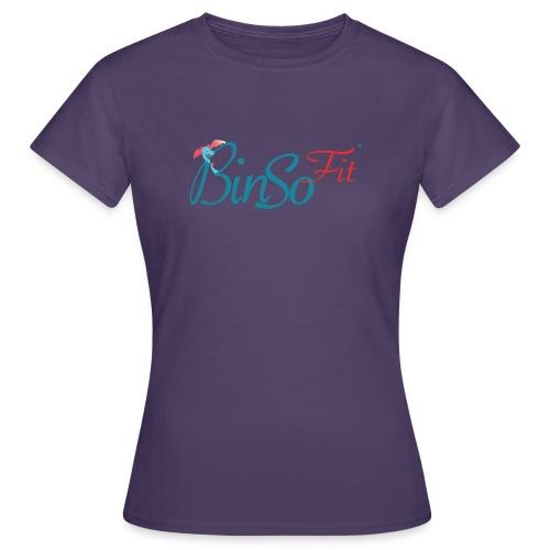 Binso Fit Tshirt Damen - Frauen T-Shirt