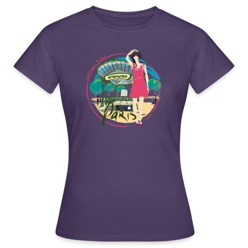 Paris by Strob métro - T-shirt Femme