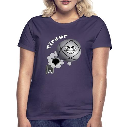 t shirt tireur pétanque boule existe en pointeur B - T-shirt Femme