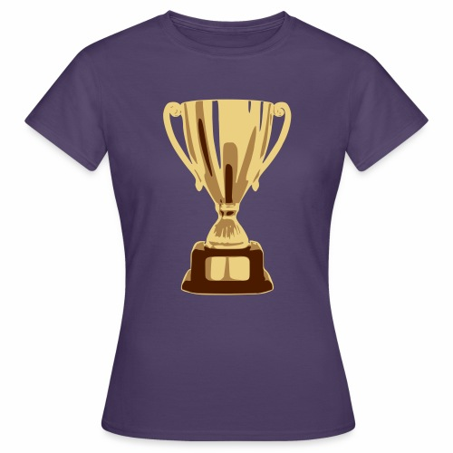 pokal vectorized - Frauen T-Shirt