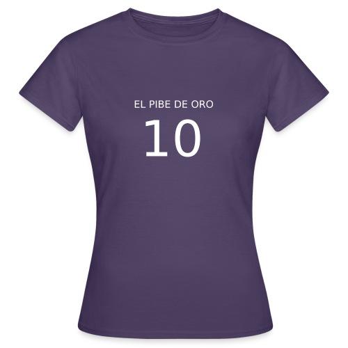 EL PIBE DE ORO - Maglietta da donna