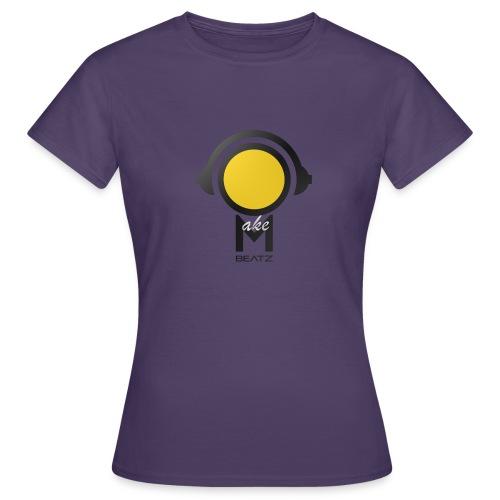 MAKEBEATZ COLORLINE YELLOWHEAD - Vrouwen T-shirt