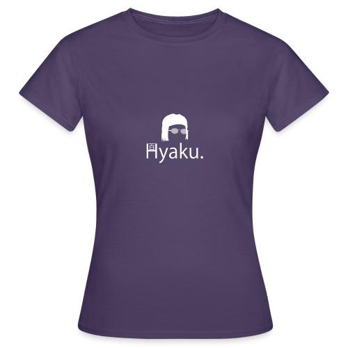 Hyaku White - T-skjorte for kvinner