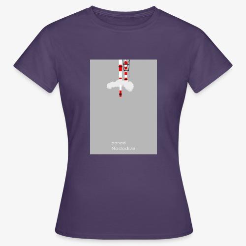 ponad nad odrze - Koszulka damska