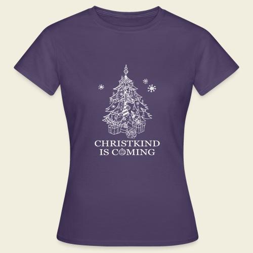 Christkind neu weiss - Frauen T-Shirt