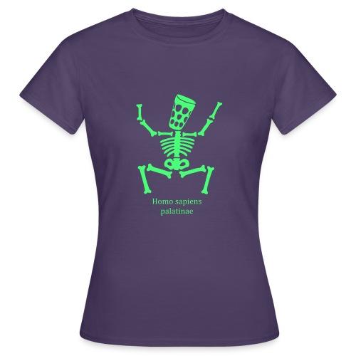 T Shirts Homo Palatinae Grün - Frauen T-Shirt
